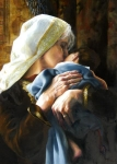 Is Anything Too Hard For The Lord - 20 x 28 giclée on canvas (unmounted)