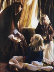 The Daughters Of Zelophehad - 30 x 40 giclée on canvas (unmounted)