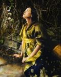 God Liveth And Seeth Me - 8 x 10 giclée on canvas (pre-mounted)
