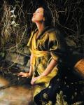 God Liveth And Seeth Me - 24 x 30 print