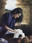She Worketh Willingly With Her Hands - 11 x 14 giclée on canvas (pre-mounted)