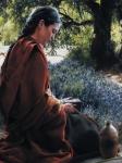 She Is Come Aforehand - 12 x 16 print