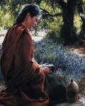 She Is Come Aforehand - 24 x 30 print