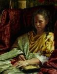 Upon Awakening - 11 x 14 giclée on canvas (pre-mounted)