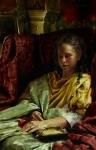 Upon Awakening - 11 x 17 giclée on canvas (pre-mounted)