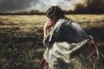 As A Sparrow Alone - 20 x 30 print