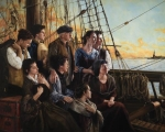 Sweet Land Of Liberty - 16 x 20 giclée on canvas (pre-mounted)