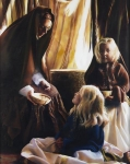 The Daughters Of Zelophehad - 8 x 10 giclée on canvas (pre-mounted)