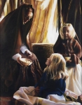 The Daughters Of Zelophehad - 11 x 14 giclée on canvas (pre-mounted)