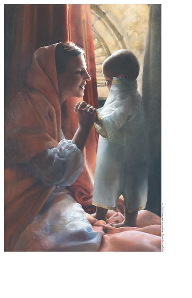 For This Child I Prayed - 9 x 14 print by Elspeth Young