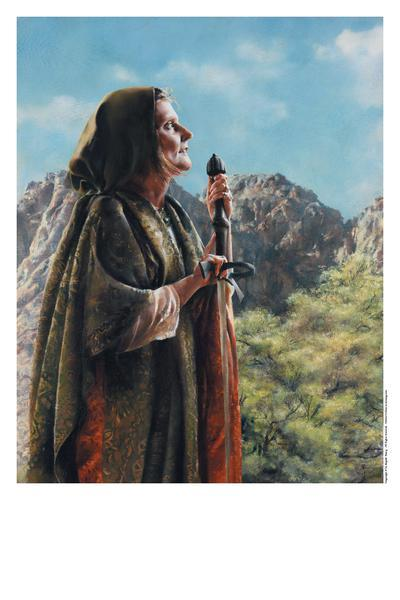 I Arose A Mother In Israel - 11 x 14 print by Elspeth Young
