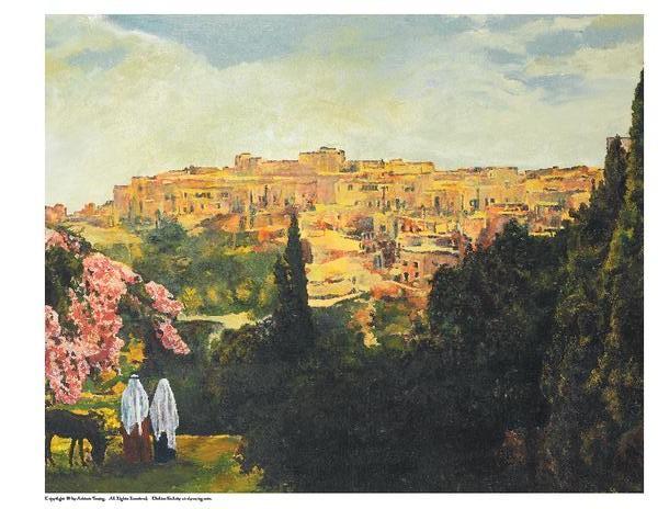 Unto The City Of David - 8 x 10 print by Ashton Young