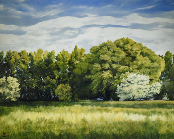 Green And Pleasant Land - 8 x 10 print by Ashton Young