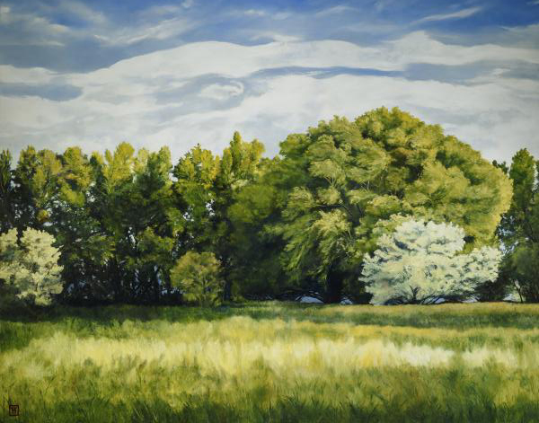 Green And Pleasant Land - 11 x 14 print by Ashton Young
