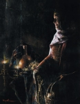 A Lamp Unto My Feet - 14 x 18 print