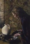 Charity Never Faileth - 9 x 12.75 giclée on canvas (pre-mounted)