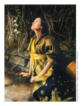 God Liveth And Seeth Me - 4 x 5.5 print