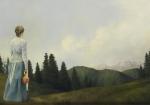 Mountain Home - 14 x 20 giclée on canvas (pre-mounted)