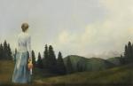 Mountain Home - 7.75 x 12 giclée on canvas (pre-mounted)