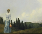 Mountain Home - 24 x 30 giclée on canvas (unmounted)