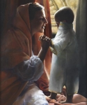 For This Child I Prayed - 20 x 24 giclée on canvas (unmounted)