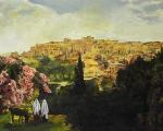 Unto The City Of David - 8 x 10 giclée on canvas (pre-mounted)