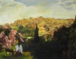 Unto The City Of David - 14 x 18 giclée on canvas (pre-mounted)