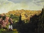 Unto The City Of David - 18 x 24 giclée on canvas (pre-mounted)