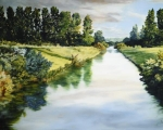 Peace Like A River - 8 x 10 giclée on canvas (pre-mounted)