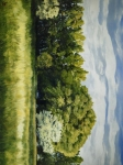 Green And Pleasant Land - 30 x 40 giclée on canvas (unmounted)