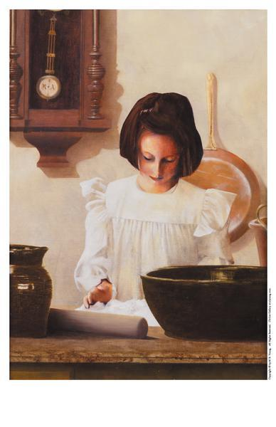 Sara Crewe - 11 x 17 print by Al Young