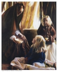 The Daughters Of Zelophehad - 8 x 10 print