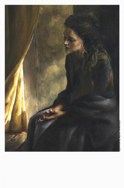 What Is To Be Done For Thee - 11 x 14 print by Elspeth Young