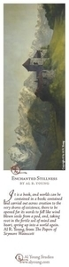 Enchanted Stillness - Bookmark by Al Young