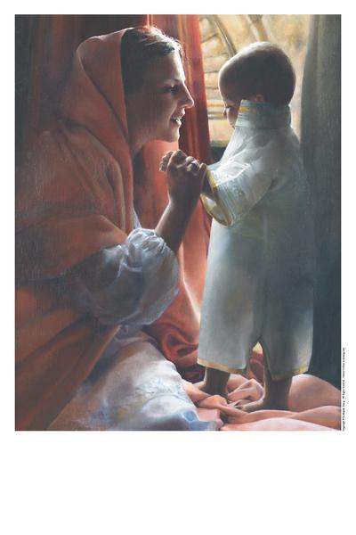 For This Child I Prayed - 11 x 14 print by Elspeth Young