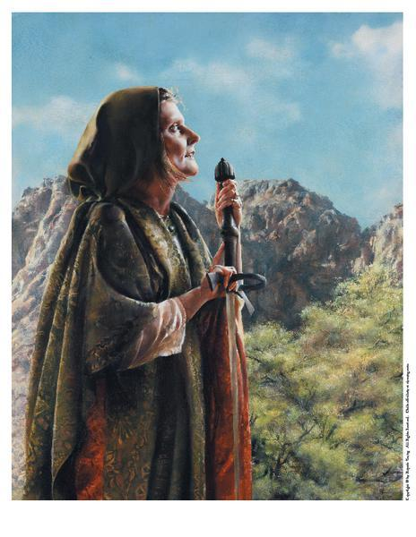 I Arose A Mother In Israel - 8 x 10 print by Elspeth Young