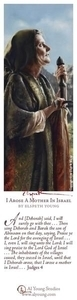I Arose A Mother In Israel - Bookmark by Elspeth Young