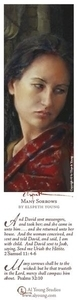 Many Sorrows - Bookmark by Elspeth Young