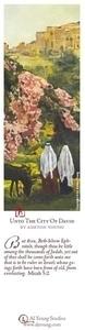 Unto The City Of David - Bookmark by Ashton Young
