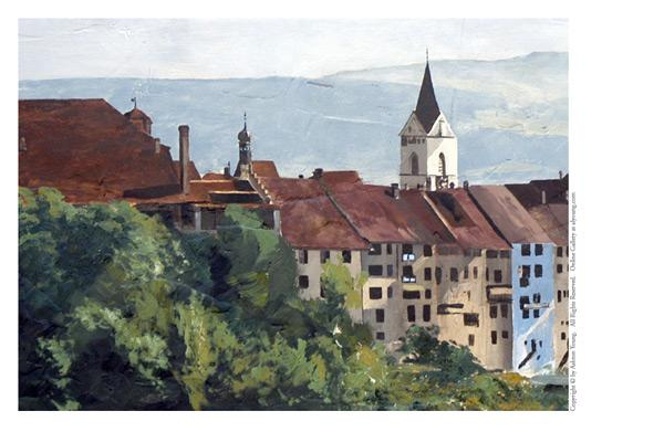 St. Gallen - 5 x 7 print by Ashton Young
