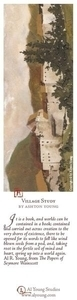 Village Study - Bookmark by Ashton Young