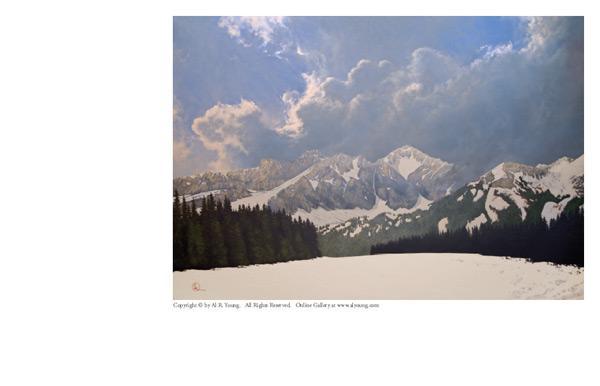Den Kommende Våren - 4 x 5.75 print by Al Young