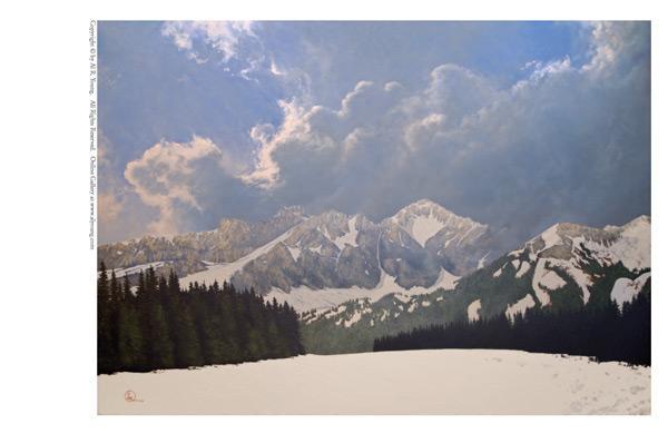 Den Kommende Våren - 5 x 7 print by Al Young