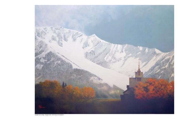 Den Kommende Vinteren - 11 x 14 print by Al Young