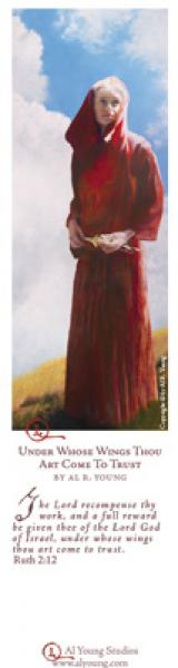 Under Whose Wings Thou Art Come To Trust - Bookmark by Al Young