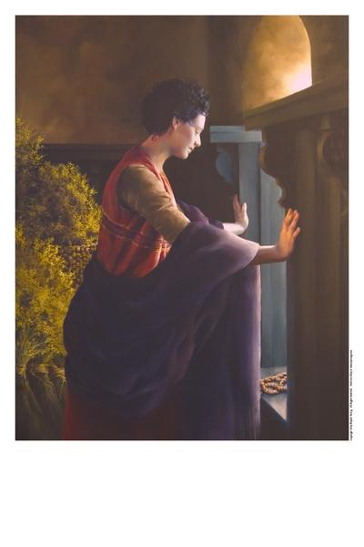 Waiting For The Promise - 11 x 14 print by Elspeth Young