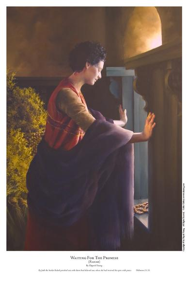 Waiting For The Promise - 11 x 17 print by Elspeth Young
