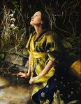 God Liveth And Seeth Me - 14 x 18 giclée on canvas (pre-mounted)