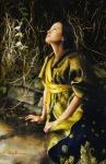 God Liveth And Seeth Me - 11 x 17 giclée on canvas (pre-mounted)