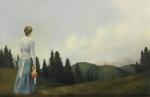 Mountain Home - 11 x 17 giclée on canvas (pre-mounted)
